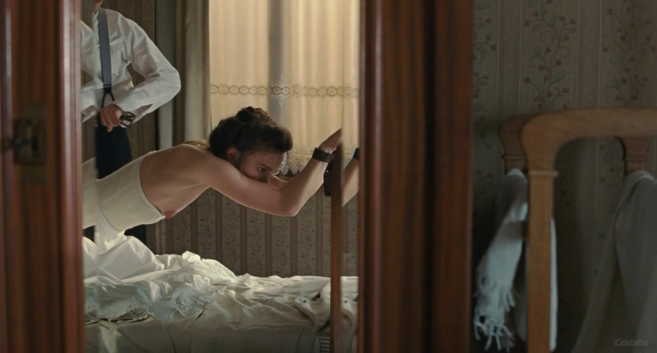 from Alfonso keira knightley tied up nude