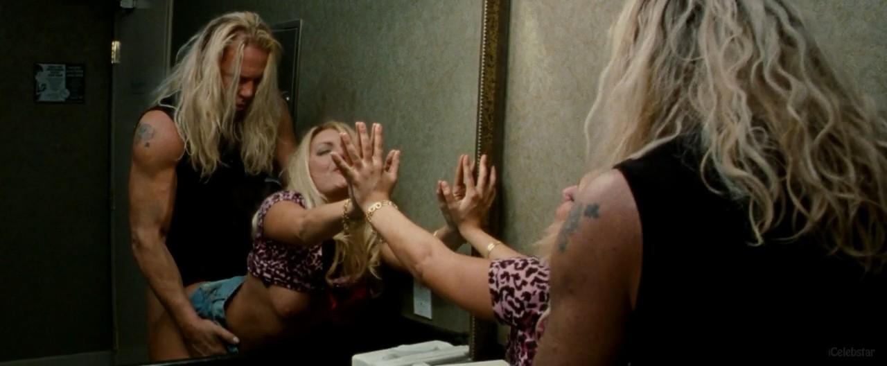 the wrestler movie bathroom scene gifs