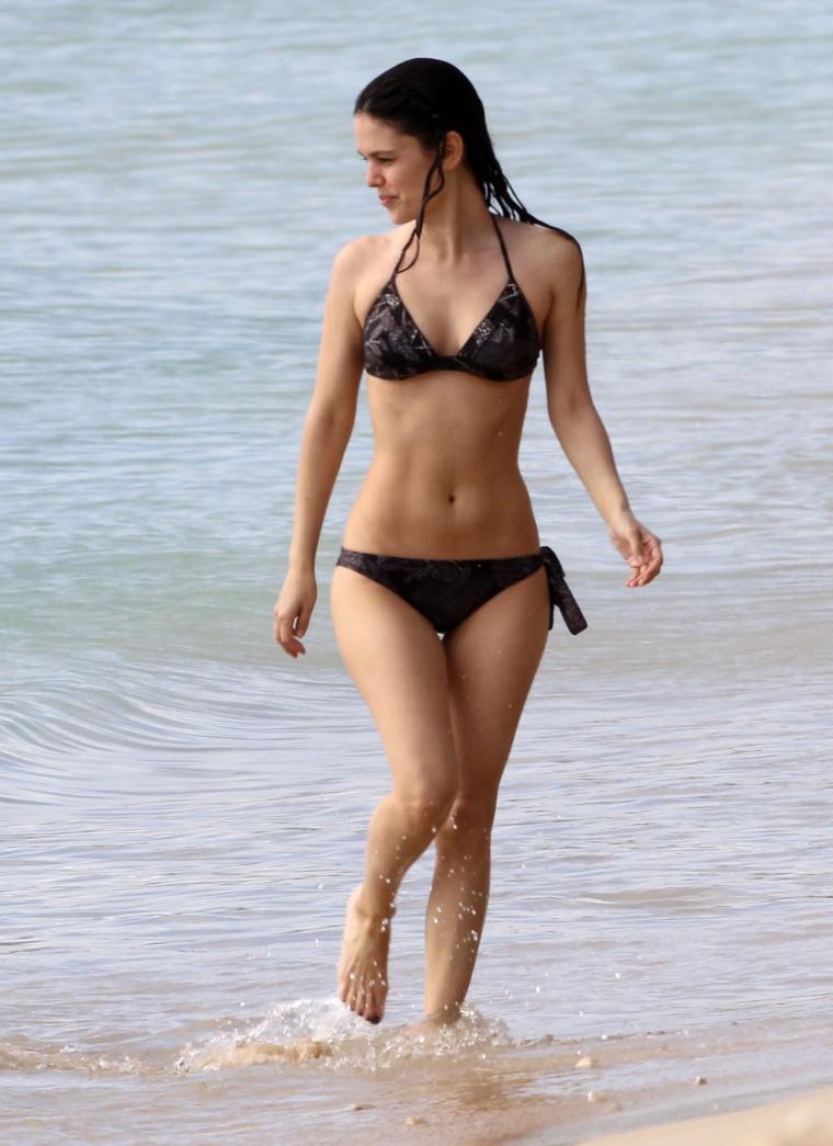 Rachel Bilson – Bikini at a beach in Barbados (Apr 2012) Spring ...